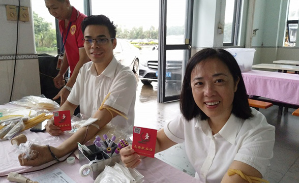 37℃,爱的温度 ——记乐善智能2019年无偿献血活动!